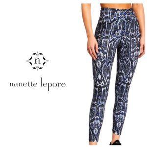NANETTE LEPORE Snake Print High Rise Leggings